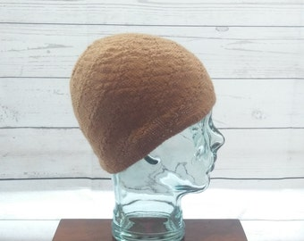 100% Pure Alpaca Child/Teenager Beanie Hat
