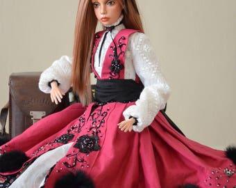 Souvenir interior doll