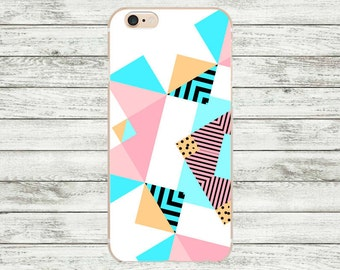 SALE White iPhone 7 case, Geometric iPhone 7/7 Plus Case, iPhone 6 / 6s / 6s Plus Case, iPhone 5 /5s /SE Case, Hard plastic / rubber case.