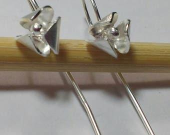 Sterling Silver little flowers earrings