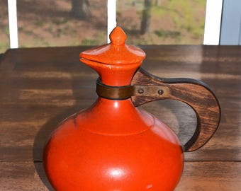 Vintage Red Wing Coffee Server (1930s- 1940s) Gypsy Trail line