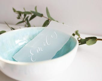 Vellum Place Settings