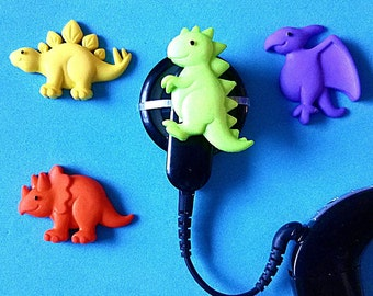 Cochlear Cuties:  Dinosaurs!  Please select quantity 2 for a pair!  Great for boys or girls!