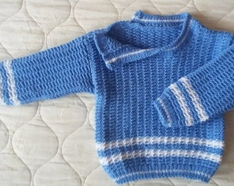 Baby sweater, clothing, baby knits, children knits, with buttons, warm, soft, handmade knits