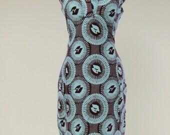 Ibis dress - ankara/lappa/wax african dress for women