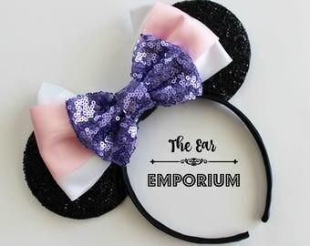 Daisy Duck Inspired Mouse Ears Headband