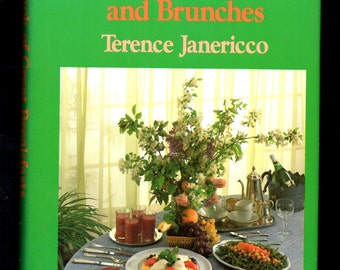 The Book of Great Breakfasts and Brunches by Terence Janericco 1983 First Edition Hardcover with Dust Jacket Cookbook