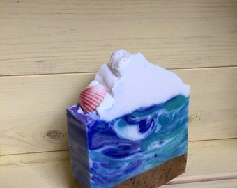 Beach, Please // Cold Process Soap // Vegan // Handmade