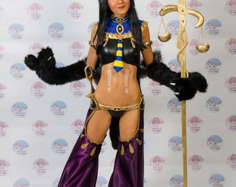 Monster girl Anubis costume ready to ship