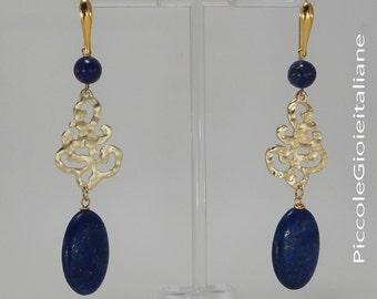 Modern earrings Earrings 925 Silver Lapis Earrings Earrings earrings Fashion Earrings Gold Earrings details