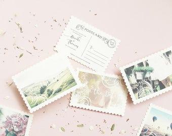 Personalised Vintage Postcard / Save the Date / Save the Date Card / Wedding Announcement / Postcard / Save the Dates / Wedding Postcard