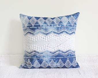 Boho Denim (Pillow Cover Only)