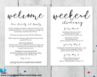 Wedding welcome letter templates hotel welcome letter guest welcome letter business letter examples spiritdancerdesigns Image collections