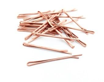100 Raw Bobby Pin, Blanks, Hair Pin, Hair Clip, DIY, Wholesale, 2x55