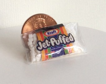Dollhouse Miniature One Inch Scale 1:12 Marshmallows by CSpykersMiniaturesUS
