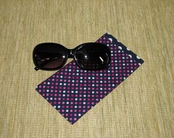 Glasses case soft, Soft phone case, Eyeglasses case, woman glasses case, glasses holder, eyeglass holder, sunglasses case, glasses sleeve