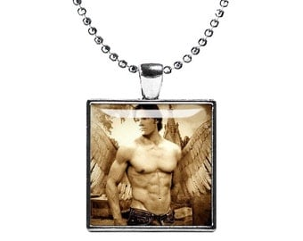 Sam Winchester Necklace Supernatural Pendant Fandom Jewelry Jared Padalecki Cosplay Fangirl Fanboy
