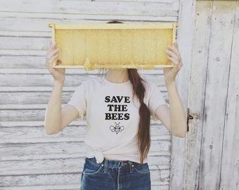 Honey Bee Shirt, Environment Shirt, Bee Shirt, Save the Bees, Bees, Save the Bees Shirt, Beekeeper Shirt, Honey Bees, Womens Graphic Tee