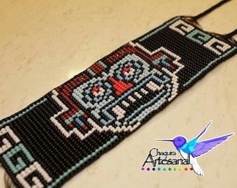 Tlaloc-bracelet handmade Mexican bracelet - bracelet-Mexico-Aztecs-God Tlaloc