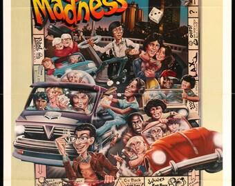 "Midnight Madness (1980) Vintage Movie Poster - 27"" x 41"""
