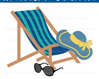 Strandkorb clipart  Beach chair clipart | Etsy