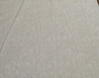 Ecru Dit Dot Cotton Flannel Fabric from In the Beginning