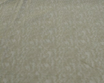 Dit Dot-Straw-Cotton Flannel Fabric from In the Beginning