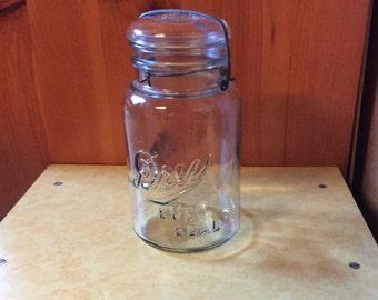 Drew Ever Seal Quart glass jar