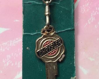 Autogram key ring / key blank