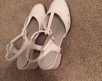 Pearl White Heels
