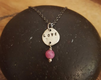 Love, Ruby Necklace