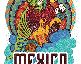 Phish Mexico Riviera Maya 2016 poster