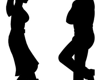 Cowboy / Cowgirl Silhouette