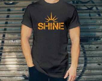 Sunshine T-shirt for Men - Sunny Shirt - Sun Tee - Beachy T-shirt for Him - Sun Graphic Tee - Animal Rescue T-shirt