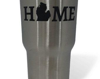 Michigan HOME RTIC 30 oz Tumbler