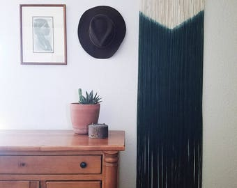 SIRENA | dip dye wall hanging (made to order)