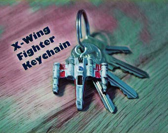 X-Wing Fighter Keychain