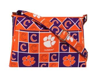 Clemson Tigers Purse / Handbag / Shoulder Bag