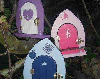 Beautifully Hand Finished Wooden Fairy Doors