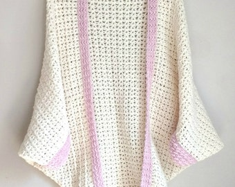 Cozy Cocoon Cardigan - CROCHET PATTERN ONLY!