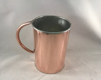Traditional Copper Beer Stein