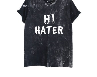 Acid wash shirt | Etsy