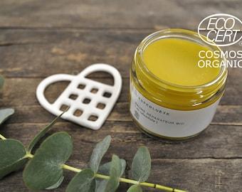 Restorative organic calendula balm