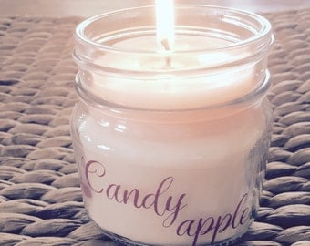 Candy Apple Soy Candle