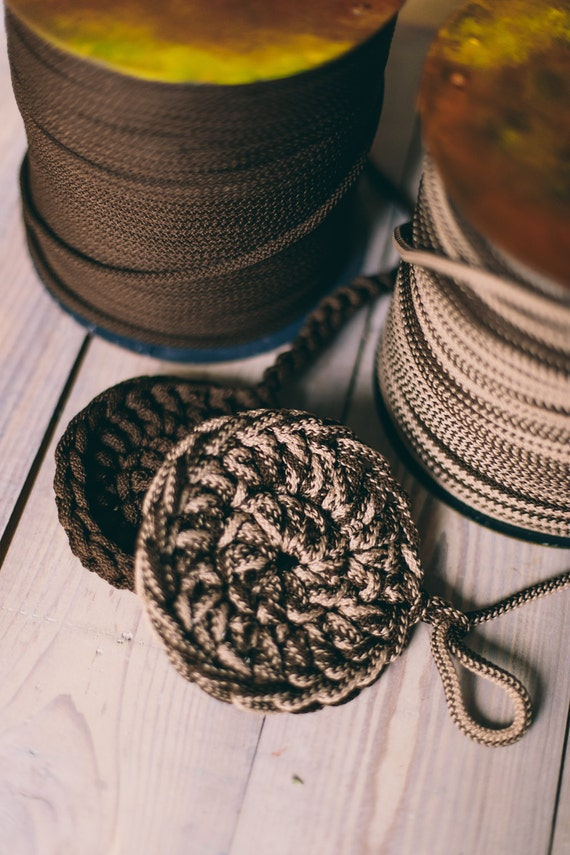 Rope yarn, chunky yarn, knitting supplies, knitting yarn, diy crafts, crochet rope, crochet supplies, macrame cord, rope cord #8 #4/8