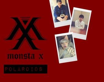 Monsta X Boyfriend Polaroids
