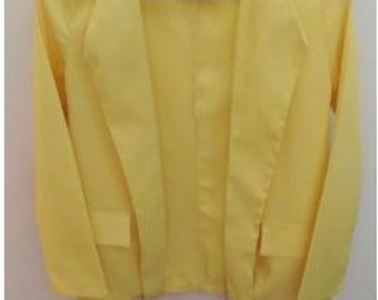 Bright yellow jacket - size 38/M
