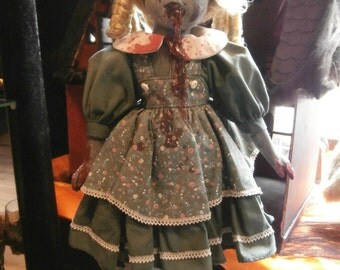 REDUCED PRICE!!! Zombie Girl Shadow Doll