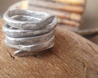 Wrought aluminum ring