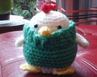 The chilly little chick